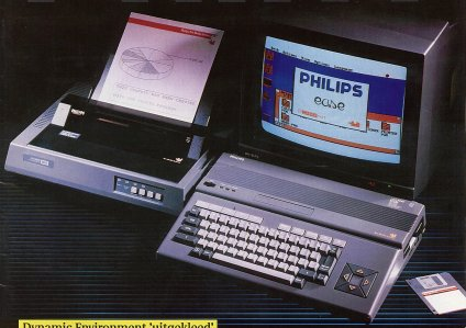 Philips NMS8245 MSX2 & NMS1431 Printer & VS0080 RGB Color Monitor